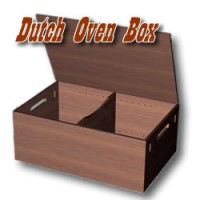 Dutch Oven Storage Box
