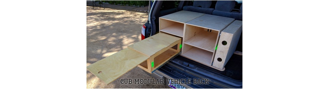 Cub Modular Vehicle Storage